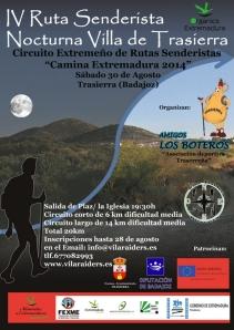IV ruta nocturna villa trasierra 2014